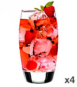 Luigi Bormioli Crescendo Highball Glasses