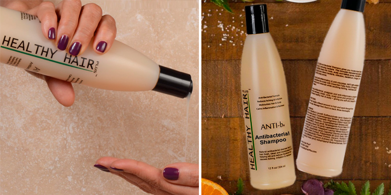 Review of Healthy Hair Plus ANTI-b Antibacterial Shampoo Antifungal Formula
