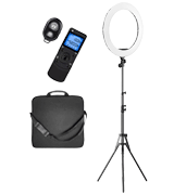 PIXEL Ring Light with Wireless Remote and iPad Holder, Pixel 19""