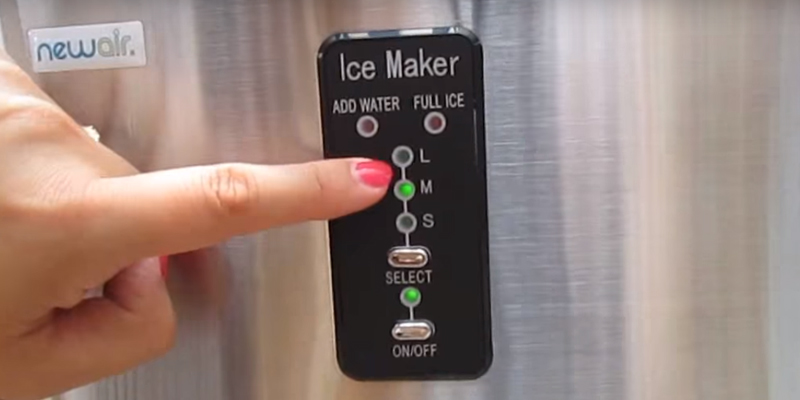 Detailed review of NewAir AI-100SS Portable Ice Maker