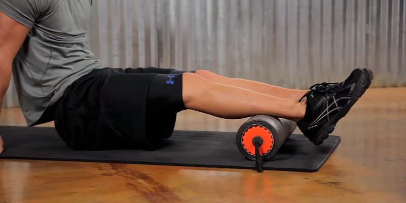 Freory 3 in 1 Foam Exercise Roller in the use