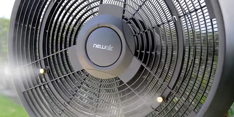 Review of NewAir AF-520B Oscillating Outdoor Misting Fan