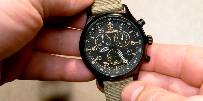 Timex TW4B10200 Expedition Chronograph Watch in the use