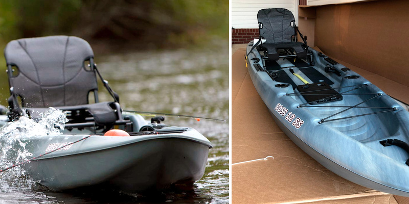 Review of Sun Dolphin Boss SS Sit-On-Top Kayak