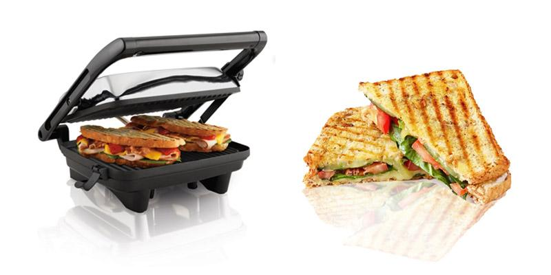 Hamilton Beach 25460A Panini Press in the use