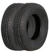 Weize ST205/75R14 Set of 2 Radial Trailer Tire
