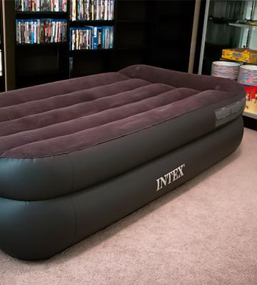 Review of Intex 67701E Airbed with Built-in Pillow and Electric Pump
