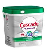 Cascade Dishwasher Detergent Fresh Scent 64 Count