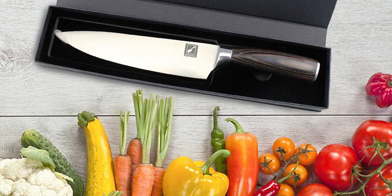 Detailed review of Imarku Professional 8-Inch Chef's Knife