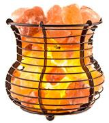 Crystal Allies Gallery Natural Himalayan Salt in Mesh Basket