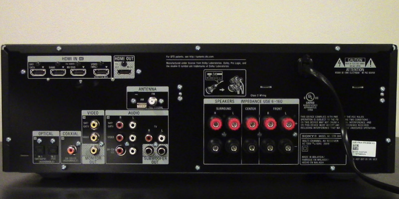 Detailed review of Sony STRDH550 4K AV Receiver