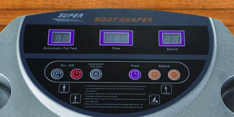 HEALTH LINE MASSAGE PRODUCTS Hold Max Powerful Vibration Machine in the use