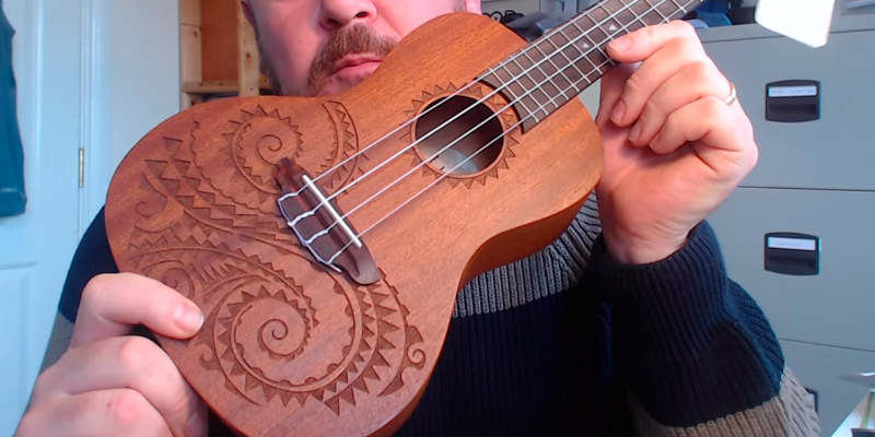 Review of Luna Mahogany Series Tattoo Concert Ukulele