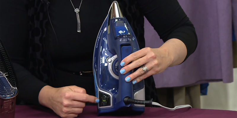 Rowenta DW9280 Steam Force Steam Iron in the use
