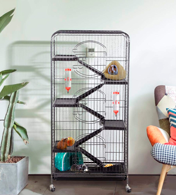 "Review of Yaheetech Cage Indoor Small Animals 37''/52"" Metal Ferret"