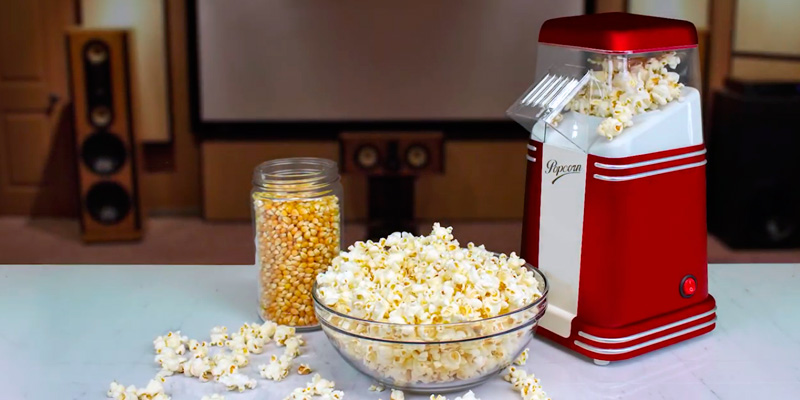Review of Nostalgia RHP310 Hot Air Popcorn Maker