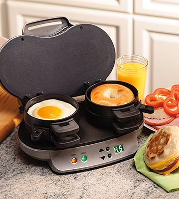 Review of Hamilton Beach 25490A Dual Breakfast Sandwich Maker