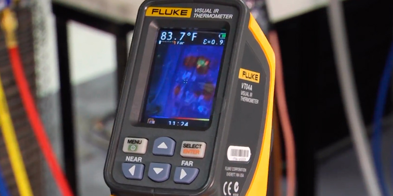 Review of Fluke VT04 Infrared Imager with Soft Carrying Case