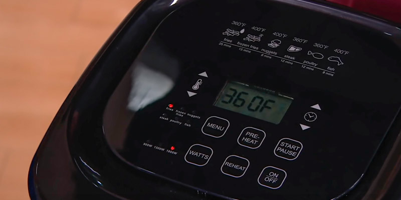 Review of NuWave 6-quart Brio Healthy Air Fryer with One-Touch Digital Controls