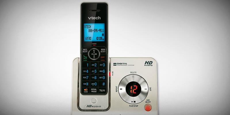 Review of VTech LS6425-3 Expandable Cordless Phone with Answering System