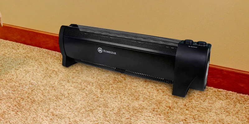 Review of Homegear 1500W Low-Profile Electric Baseboard Heater