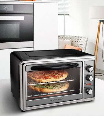 Review of Hamilton Beach 31107D Countertop Oven with Convection & Rotisserie