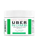 UberScientific Numb 5% Lidocaine Pain Relief Cream