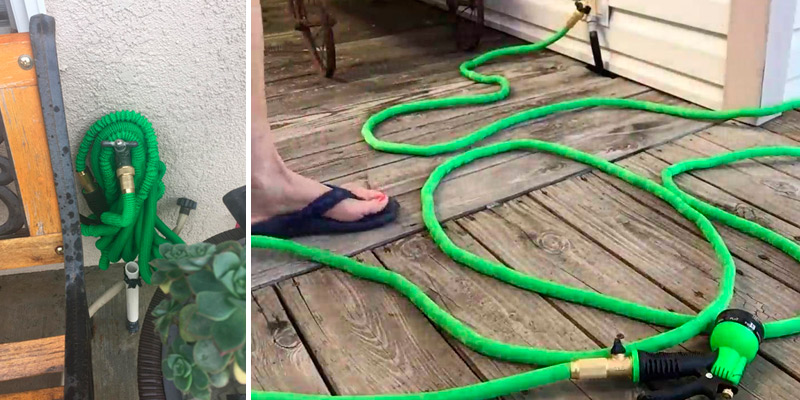 Review of GrowGreen 82-GHB-50 Expandable Hose with All Brass Connectors