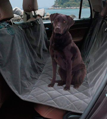 Review of Lanyar Microfiber Waterproof Dog Seat Covers