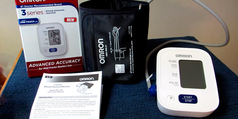 Review of Omron BP710N 3 Series Upper Arm Blood Pressure Monitor (14 Reading Memory)