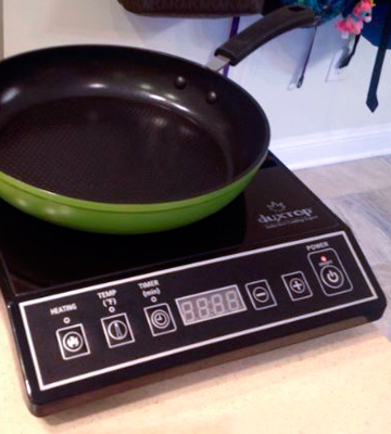 Review of Secura 1800-Watt Portable Induction Cooktop Single Burner