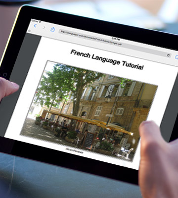 Review of ieLanguages French Tutorial+Informal
