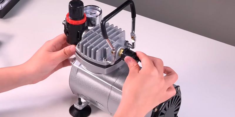 Review of PointZero KIT-GP-47 Air Compressor and 3 Airbrushes Kit