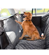 Vailge Dog Seat Cover for Back Seat, 100% Waterproof Dog Car Seat Covers