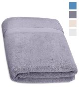 Pinzon by Amazon EKEBSPLAT Heavyweight Luxury 820-Gram Large Towel Bath Sheet