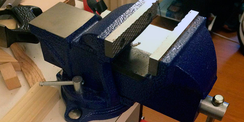 Wilton 11104 Bench Vise in the use