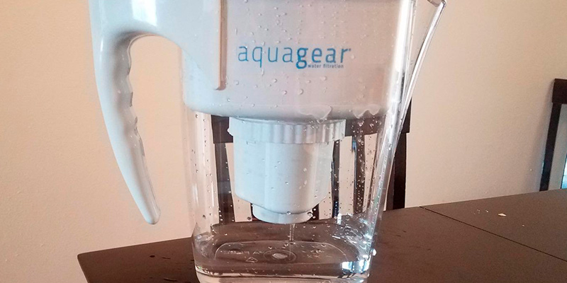 Review of Aquagear Water Filter Pitcher Fluoride and Lead