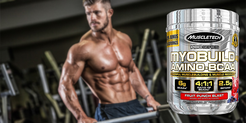 MuscleTech MUS1101/100/101 Post Workout Amino BCAA Supplement in the use