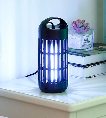 Review of BugAZappa Bug Zapper Lantern Great Indoor Outdoor Electric Bug, Fly & Mosquito Killer