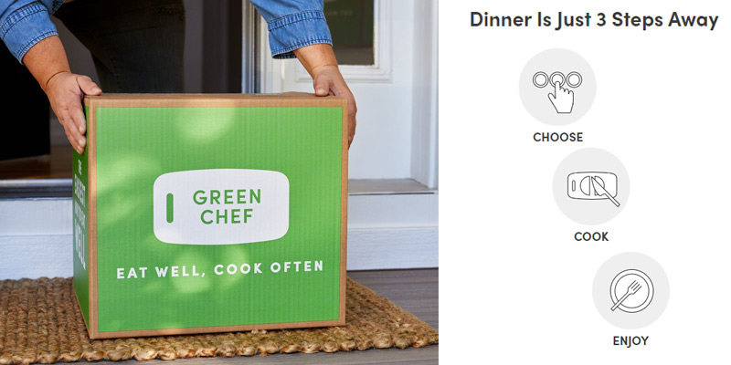Review of Green Chef Healthy Meal Kit Delivery Service
