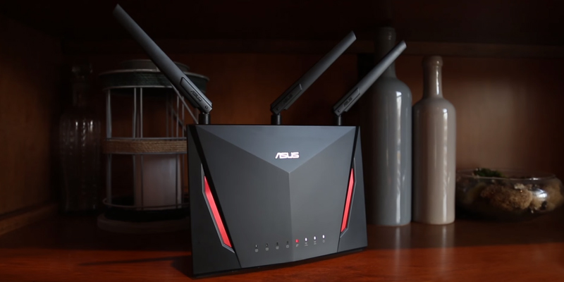 Review of ASUS RT-AC86U AC2900 WiFi Dual-band Gigabit Wireless Router with 1.8GHz Dual-core Processor and AiProtection Network Security