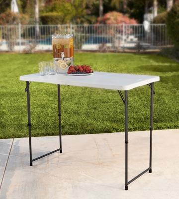 Review of Lifetime Folding Utility Table