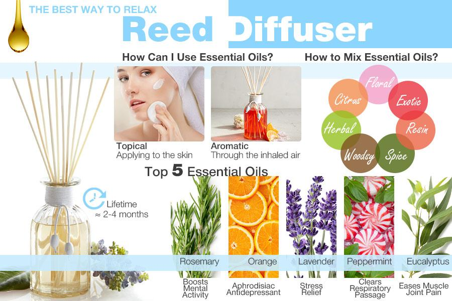 Comparison Of Oil Reed Diffusers To Add A Pleasant Fragrance To Your Place