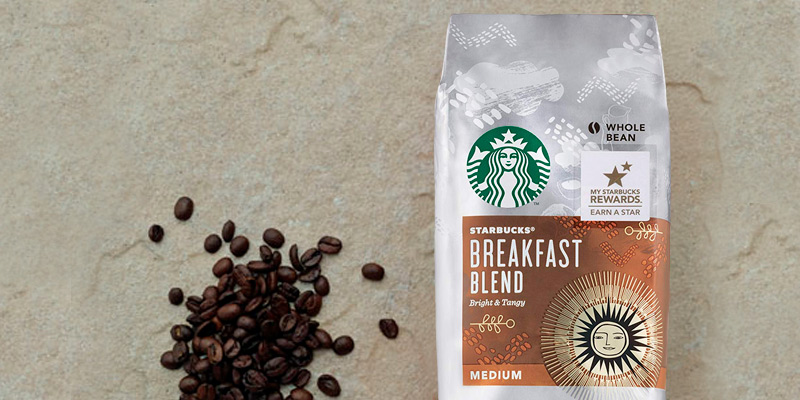 Review of Starbucks Breakfast Blend Medium Roast Whole Bean
