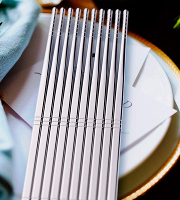 Review of Omia Metal Stainless Steel Chopsticks