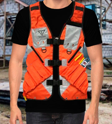 Review of Vest Tech XL High Visibility Tool Vest