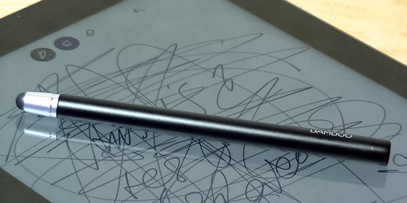 Detailed review of Wacom Bamboo Stylus Pen (CS100K) for iPadTablets