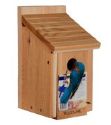Woodlink BB1 Wooden Bluebird House