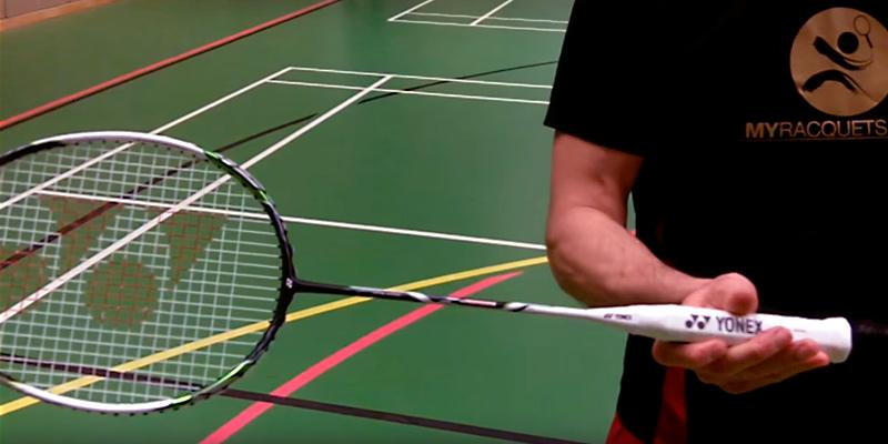 Yonex Nanoray Series Badminton Racket in the use