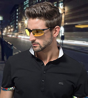 Review of ATTCL 8177 Men's HOT Fashion Driving Polarized Sunglasses